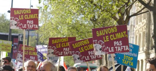 TAFTA : l'UE répond à l'urgence climatique par le libre-échange